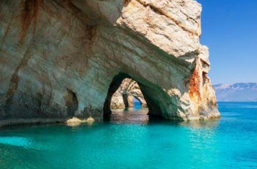 blue cave du lịch đảo zakynthos