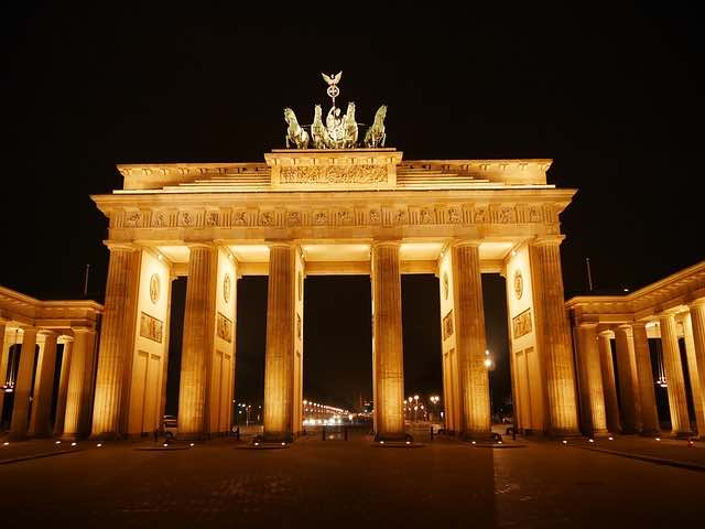 cổng brandenburg berlin
