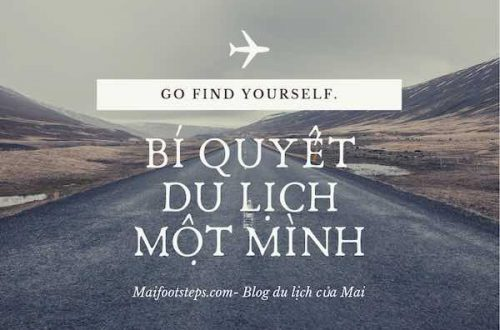 bí quyết du lịch một mình