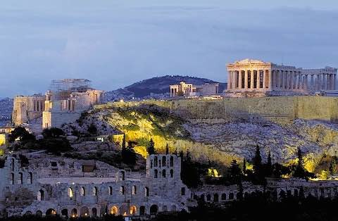 Acropolis du lịch Athens Hy lạp