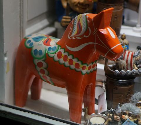 quà lưu niệm Thuỵ điển ngựa gỗ dala