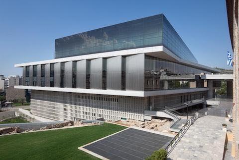 bảo tàng new acropolish hy lạp