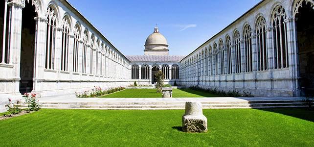 Nghĩa trang tưởng niệm Camposanto pisa ý