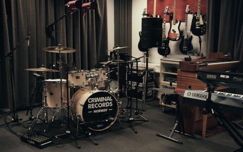 Phòng chơi nhạc tại nhà tù Na uy