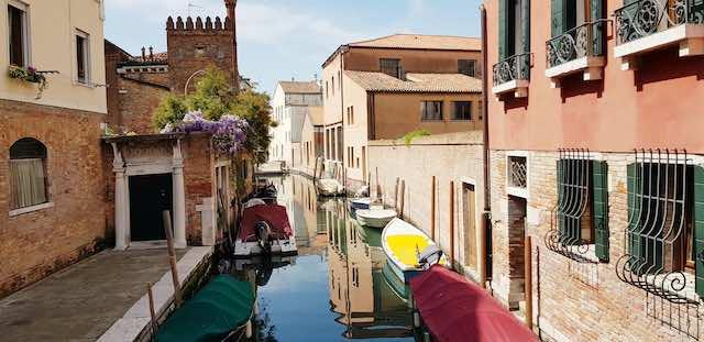 kênh đào du lịch venice italy
