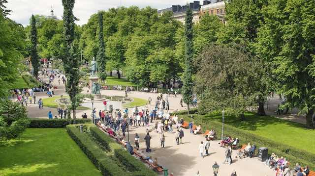 Công viên- đại lộ Esplanadin