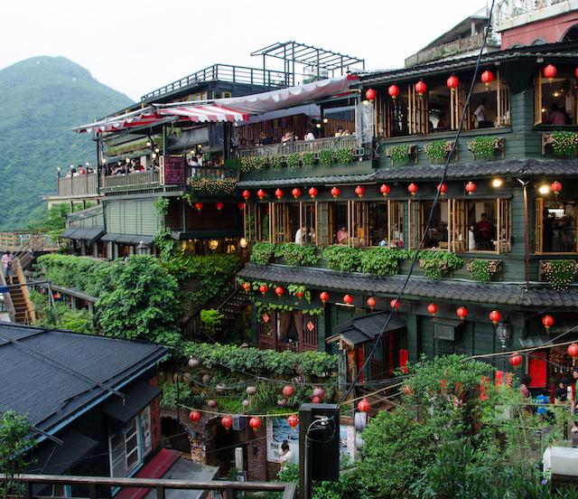 Jiufen Cửu Phần- địa điểm du lịch đài loan