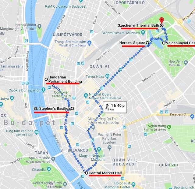 lịch trình du lịch budapest Hungary ngày 1