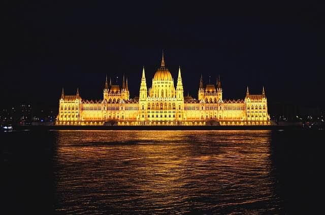 Tòa nhà Quốc hội Hungary.