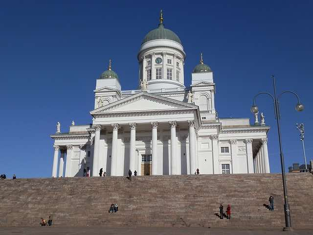 Nhà thờ catheral Helsinki Phần lan