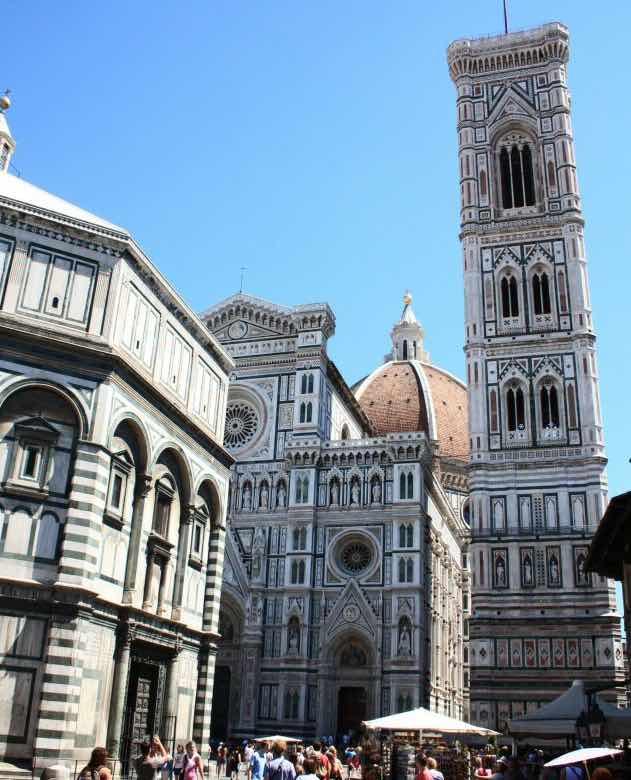 Quảng trường piazza del Duomo du lịch florence