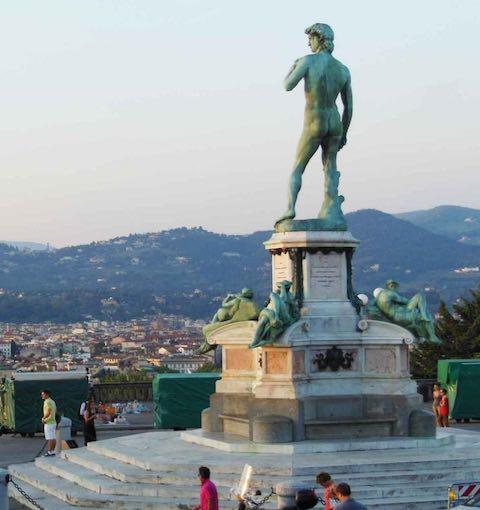 Quảng trường Michelangelo du lịch florence ý