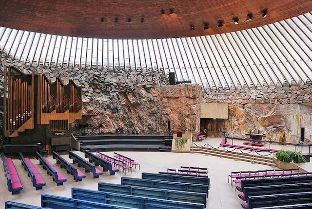 Nhà thờ đá Rock church
