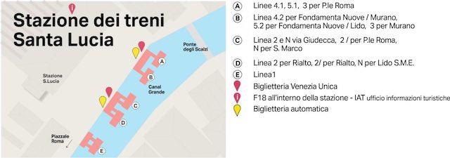 Bản đồ du lịch Venice Ý tự túc
