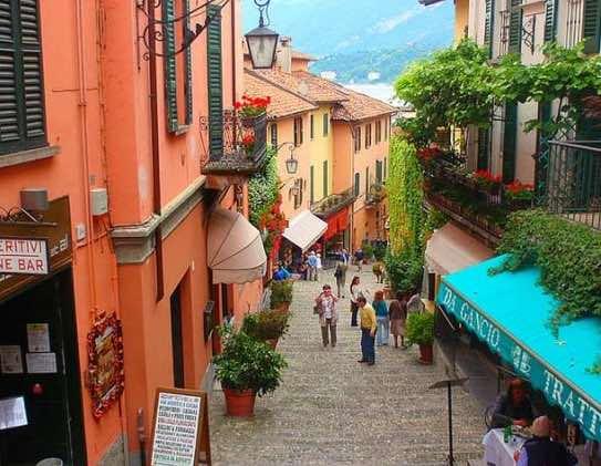 Du lịch làng Bellagio