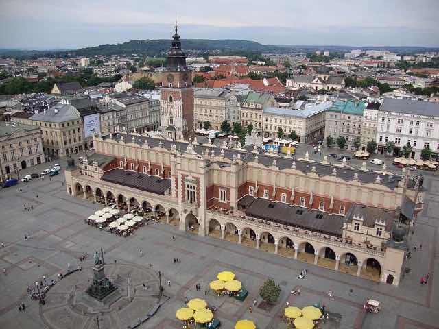 Quảng trường chính Krakow