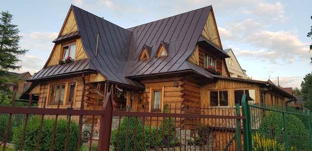 ngôi nhà gỗ zakopane