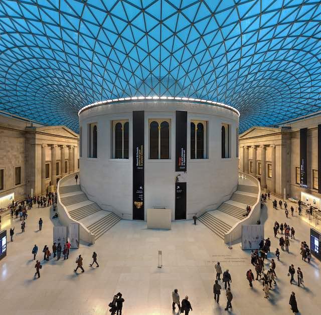 The British museum- địa điểm du lịch london nước anh