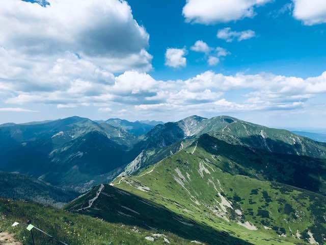 đỉnh núi Kasprowy Wierch