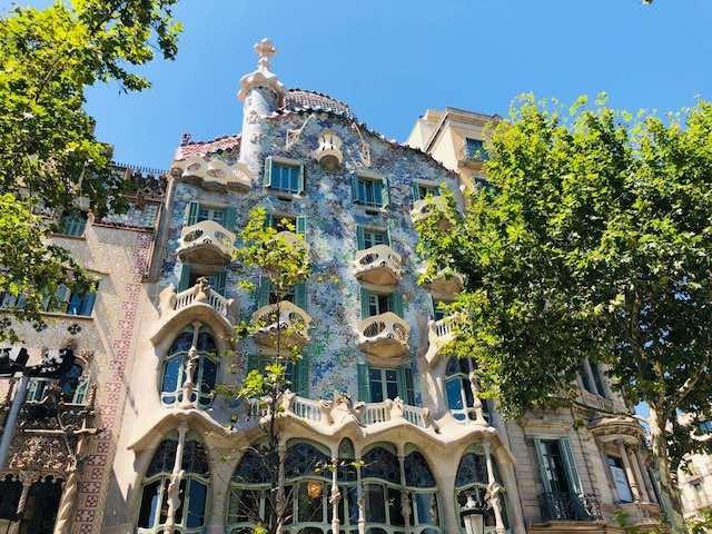 Casa Batllo của Gaudi