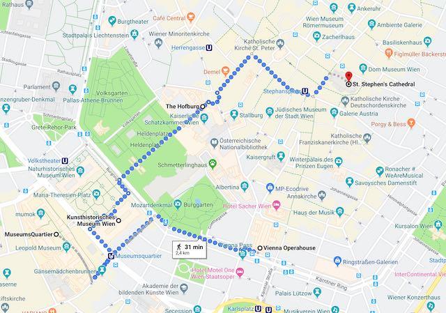 Lịch trình du lịch Vienna Áo
