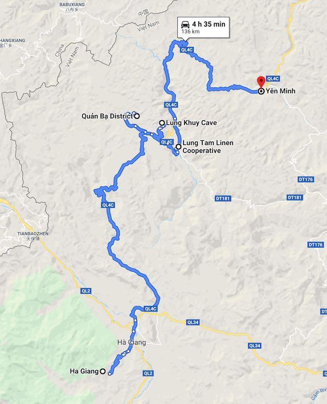 Ha giang loop itinerary day 1