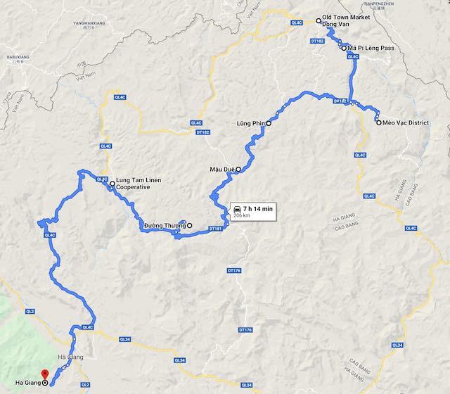 Ha giang motorbike loop 2 days itinerary day 2