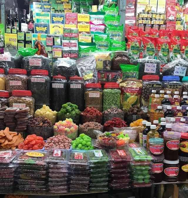 Jam and specialties  in Dalat