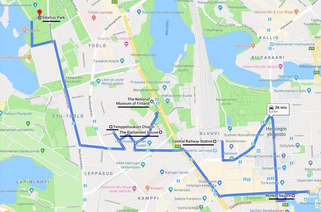 Helsinki itinerary day 2