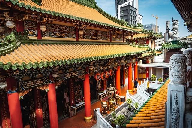 Chùa Cổ Lâm sơn tự địa điểm du lịch Đài loan nổi tiếng