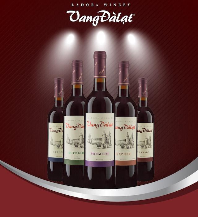 Dalat red wine